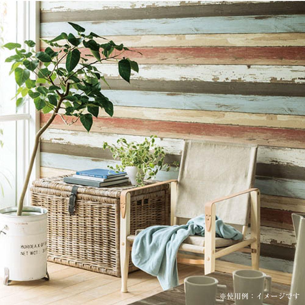 生のり付き壁紙 エフクロス 05 アジアン調の花柄 生のり付き壁紙 です リンテックコマース株式会社