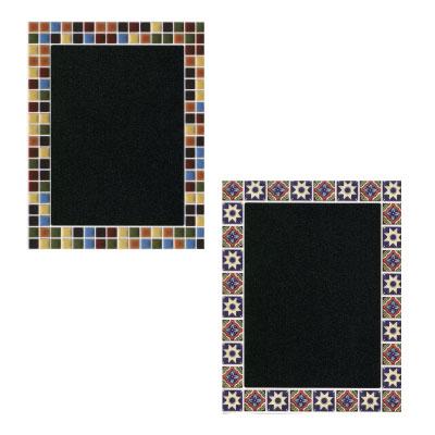 黒板シール(モザイクタイル、 アンティークタイル)